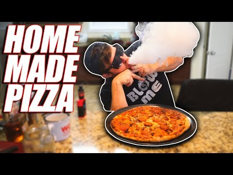 Cooking With Dan - 4 Meat Pizza