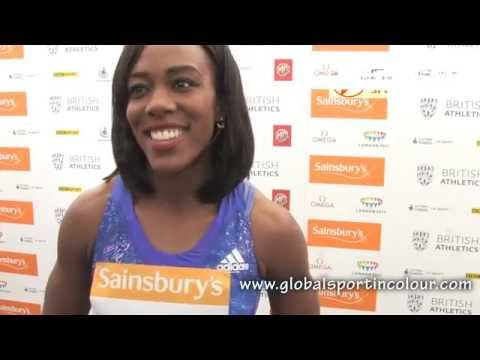 Tiffany Porter Post Diamond League interview - Birmingham 2015