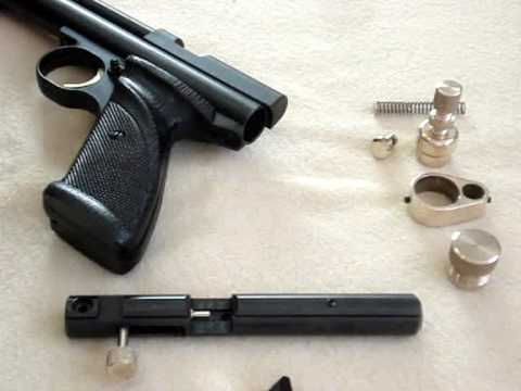 Gmac Custom Parts: modding a Crosman 2240