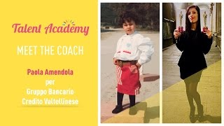 Meet the coach:  Paola Amendola