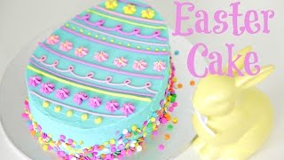 Easter Egg Cake Decorating - CAKE STYLE