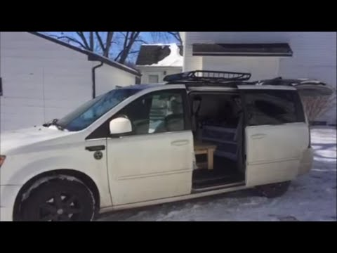 2008 Chrysler Town & Country minivan camper