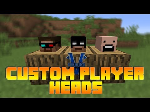 How to Get Custom Player Heads in Minecraft 1.7.9 (No Mods, Really Easy, Noob Fr