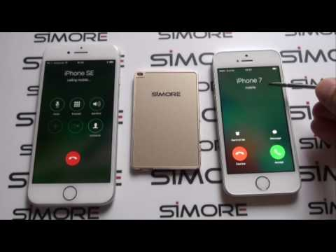 iPhone 7 Dual SIM simultaneous bluetooth adapter with both SIMs active online at the same time