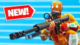 *NEW* HEAVY SNIPER Gameplay in Fortnite Battle Royale