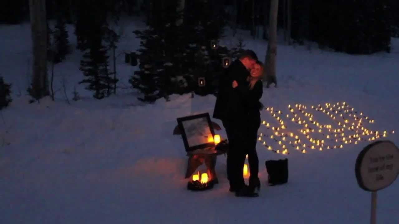 Как сделать предложение зимой 962