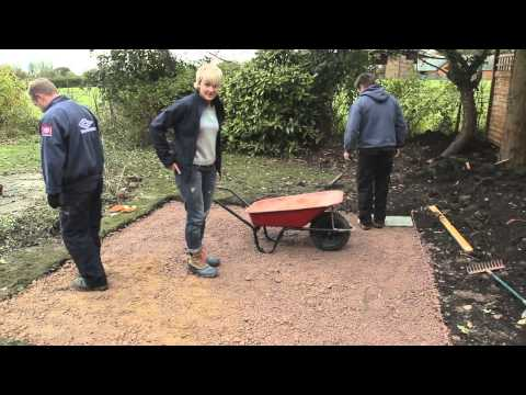 DIY: How to lay paving slabs (patio) - with Philippa Tuttiett