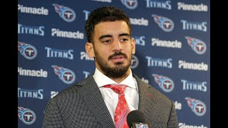 Watch #Titans QB Marcus Mariota's post-game press conference following #TENvsNYG