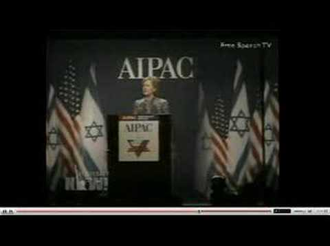 Zionist Hillary at Aipac