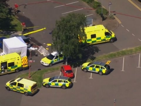 Raw: Deadly Shooting at UK Swimming Pool