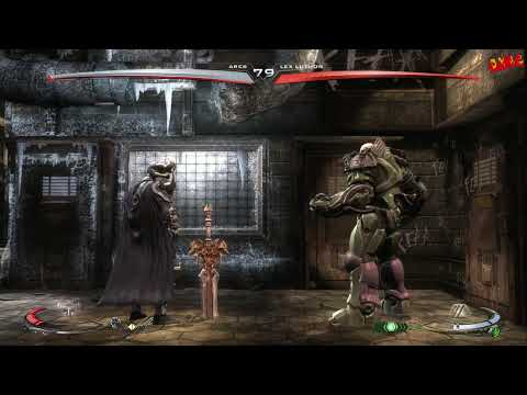 Injustice Gods Among Us Ares Arcade Ladder Walkthrough with final boss fight and ending