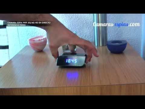 Camara Espia Wifi 3G 4G HD en Directo - Ref.23003 Camaras-espias.com