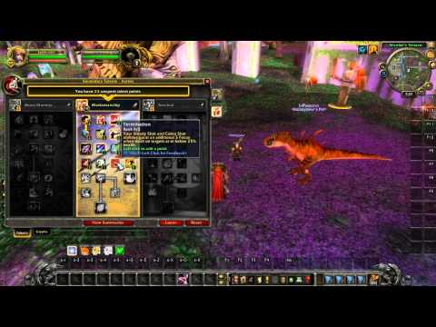 Warcraft - Cataclysm: Marksmanship (MM) Hunter Talent Tree Changes, Glyph Choice and Rotation