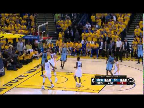 NBA, playoff 2015, Warriors vs. Grizzlies, Round 2, Game 5, Move 35, Marc Gasol, dunk