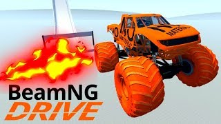 High Speed Jumps/Crashes Compilation #8 - #BeamNG Drive Satisfying Car Crashes