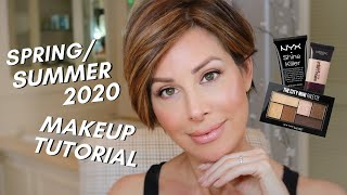 Spring/Summer 2020 Drugstore Makeup Tutorial | Dominique Sachse