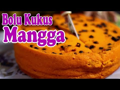 Cara Membuat Bolu Kukus Mangga   steamed Mango cake Makyus!!