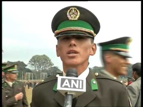 Afghan cadets pass out from India Military Academy