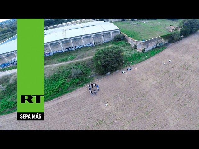 Un drone filma en España un 'campo de batalla de Aníbal' de hace 2.200 años