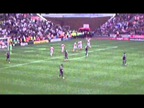 Stoke City - Peter Odemwingie Goal Celebrations