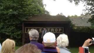 Robert Hardy reads 'Adlestrop' by Edward Thomas - 100th Anniversary celebration