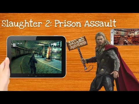 Slaughter 2: Prison Assault Android game gameplay proof apk. Data mod apk free no paid