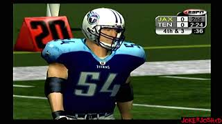 ESPN NFL 2K5 Demo Games | JAX @ TEN |