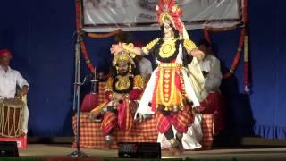 Yakshagana---Kannimane as Manmatha---Brahma Kapala