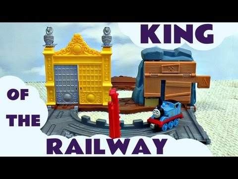 Thomas The Tank Engine and Friends King Of The Railway Take N Play Treasure Tracks