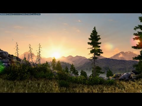 Elder Scrolls VI Engine!? Unigine Demo ► Max Settings, 1080p (All Four Scenes)