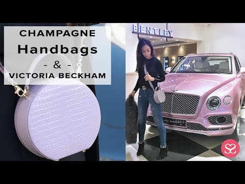 COME AND SHOP HANDBAGS & MEET VICTORIA BECKHAM WITH ME! | Sophie Shohet