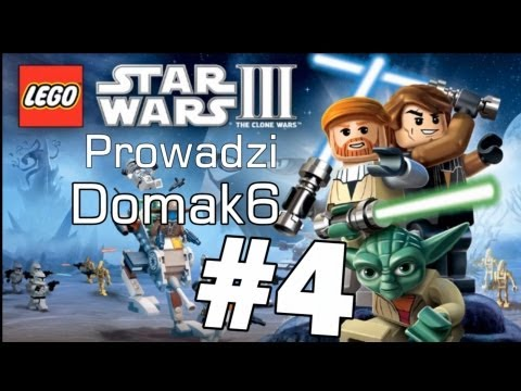 ➘ Let's Play / Zagrajmy w Lego Star Wars 3  PC odc 4 Katastrofa Jedi  PL HD