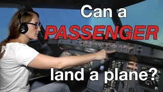 Can a PASSENGER land a PLANE? Presented by CAPTAIN JOE