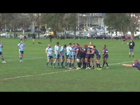 2016 Crimsafe Australian Police Rugby League Tri-Series - ASTPRL v NSWPRL - 28 June 2016 - 1st half