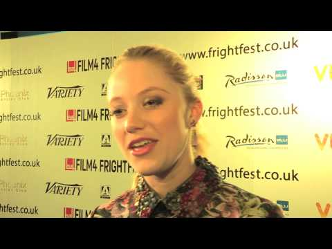 Maika Monroe - The Guest - Film 4 FrightFest UK Premiere Interviews