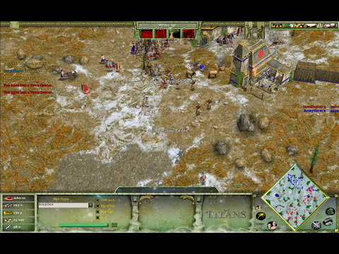 ArmyCore (Oranos) vs IamMagicc (Oranos) on Tundra - Age of Mythology: The Titans