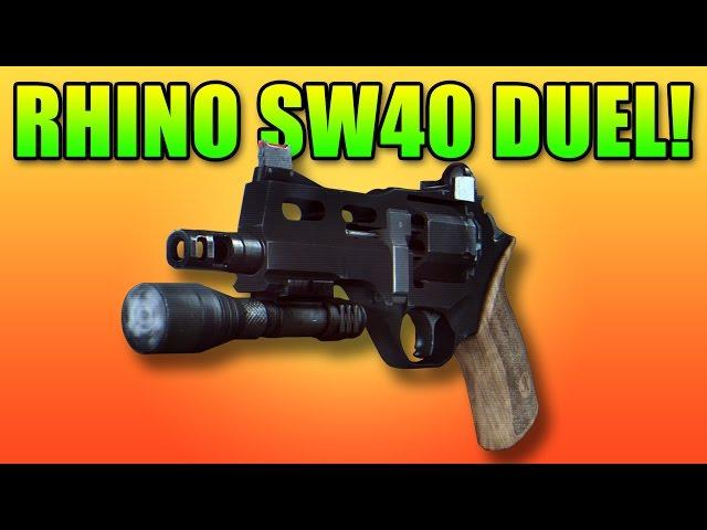 Rhino SW40 Duel - Double Vision | Battlefield 4 Pistol Gameplay