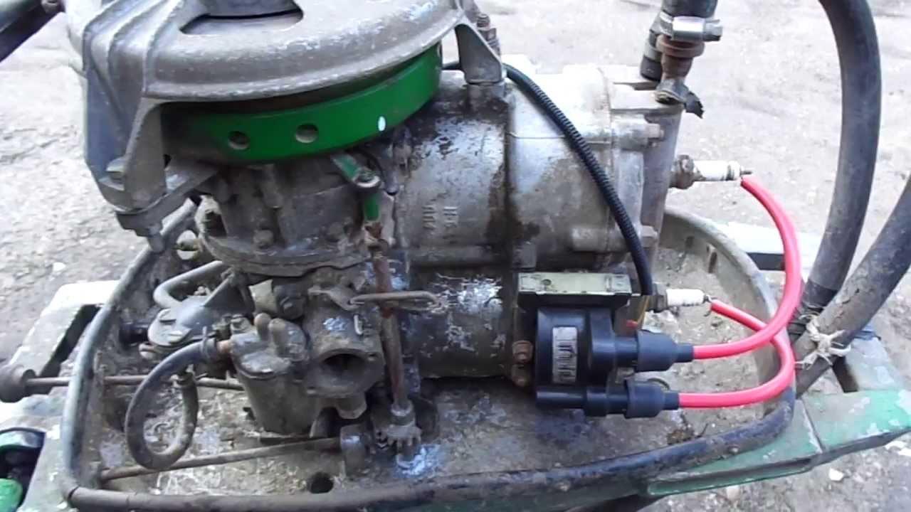 Как сделать зажигание на лодочный мотор 95