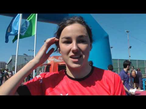 Nº 29 Eleni Alberdi XXIII TRIATLÓN Santa Olaya 2015 Gijón Asturias España