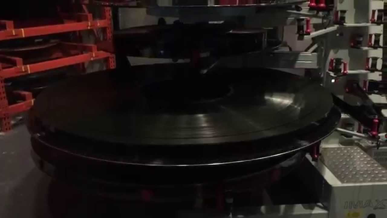70mm Imax Reel Of Interstellar Being Fed To An Imax Dome