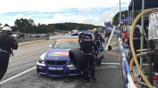 BimmerWorld Racing BMW E90 Pit Stop Road Atlanta Slow Motion iPhone 6