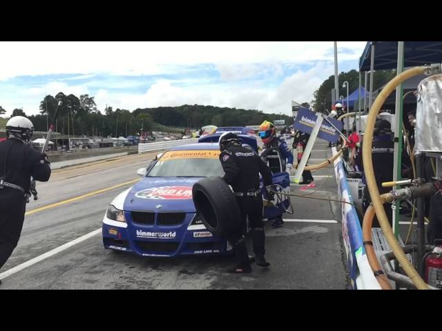 BimmerWorld Racing BMW E90 Pit Stop Road Atlanta Slow Motion iPhone 6