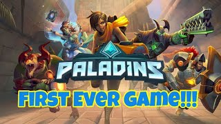 My First Game of Paladins!!!