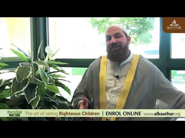 {Parenting Matters} Ep3 - Not Another Toy Story! Sh. Alaa Elsayed