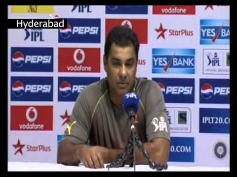Sunrisers Hyderabad post match press conference08052013