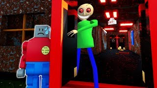 LEGO BALDI'S SCHOOL OF TERROR SURVIVAL?! (Brick Rigs Gameplay Roleplay) Lego Baldi Returns!