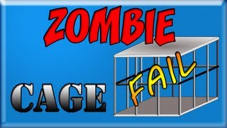Zombie Cage Epic end fail 4 player