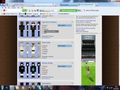Minecraft วิธีการโหลดและลง skin