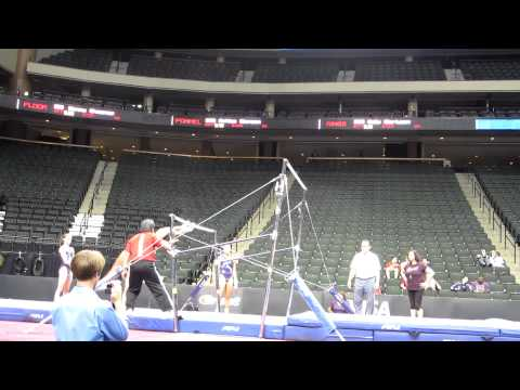Mackenzie Caquatto - 2011 Visa Championships Podium Training - Uneven Bars