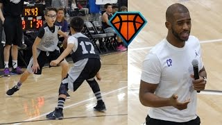Chris Paul Gives 7th Grader Advice on How to Respond to Getting Crossed!! | THEN HE GETS REVENGE!